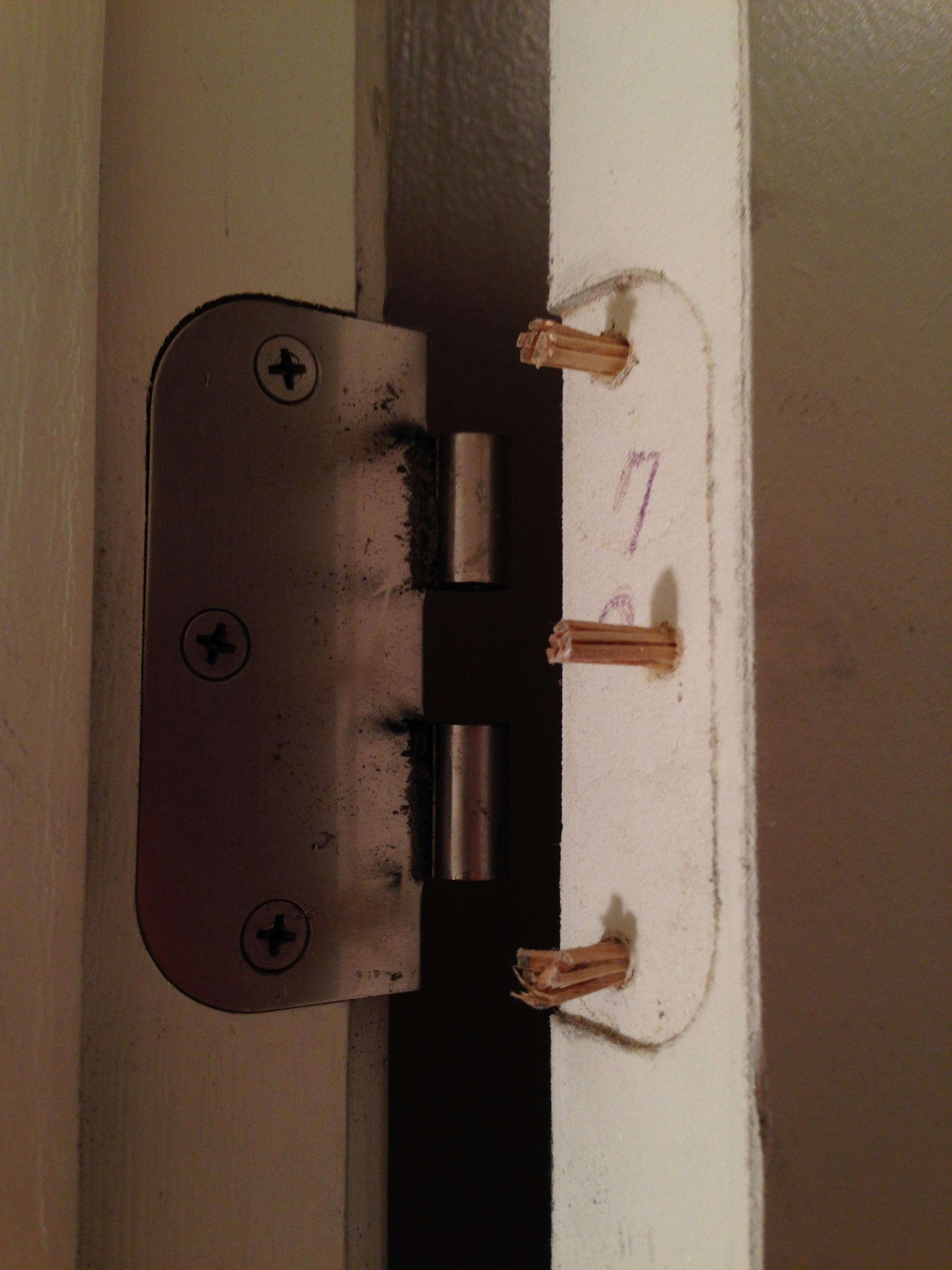 Repair Broken Door Hinge Why Scat Fails